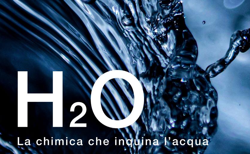 immagine delle cover del dossier di Legambiente H₂O – la chimica che inquina l'acqua